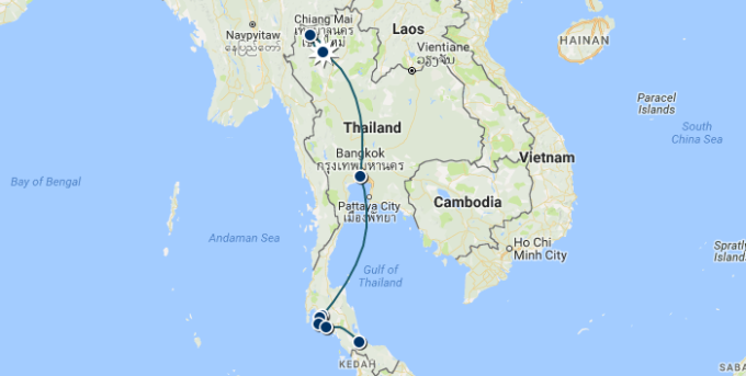 How Much Does it Cost to Travel inThailand?